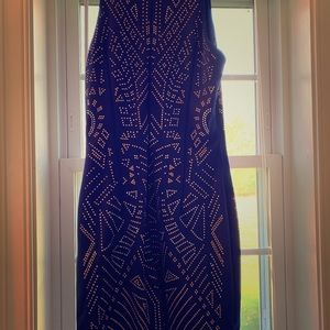 Cocktail or semi-formal beaded dress